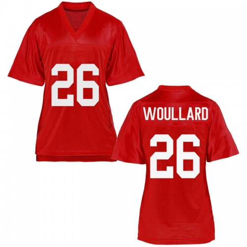 Women's Isaiah Woullard Ole Miss Rebels Game Cardinal Football College Jersey