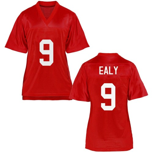 Women's Jerrion Ealy Ole Miss Rebels Replica Cardinal Football College Jersey