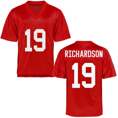 Youth Jamar Richardson Ole Miss Rebels Replica Cardinal Football College Jersey