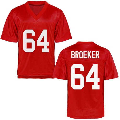 Youth Nick Broeker Ole Miss Rebels Replica Cardinal Football College Jersey