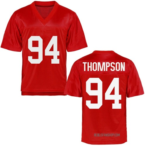 Youth Walker Thompson Ole Miss Rebels Replica Cardinal Football College Jersey